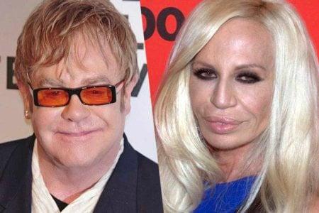 Elton John Donatella Versace autobiografia