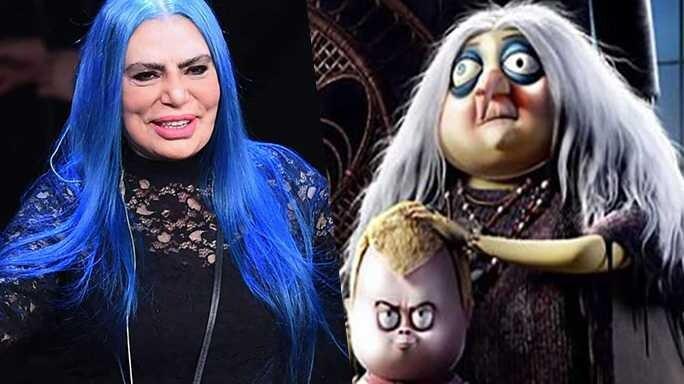 Loredana Bertè Famiglia Addams