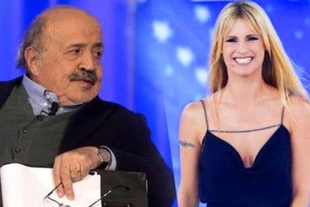 Maurizio Costanzo Michelle Hunziker Amici Celebrities Maria