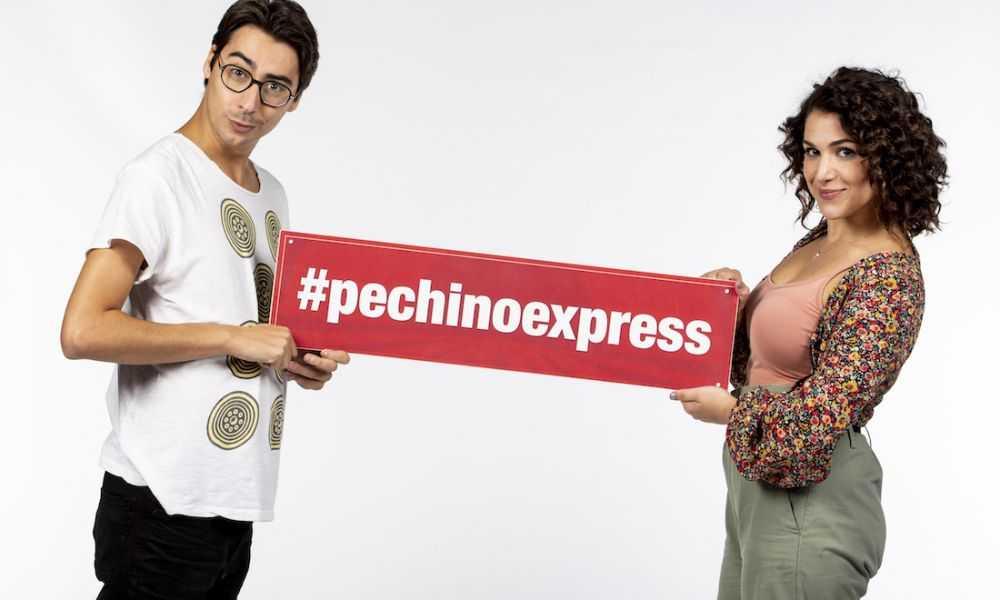 Pechino Express Cast Annandrea Vitrano Claudio Casisa