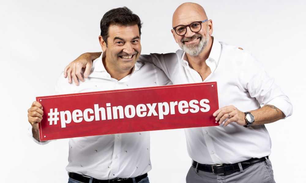 Pechino Express Cast Max Giusti e Marco Mazzocchi
