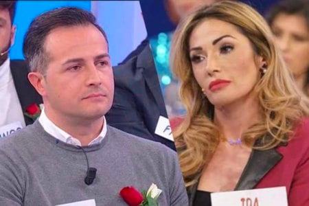 Riccardo Maria Gualtieri Ida Platano Uomini e Donne Trono Over