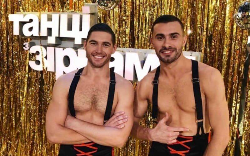 Same Sex dance Vladimir Ostapchuk Sasha Prohor dancing