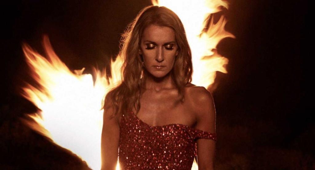 Celine Dion COurage vendute cover album