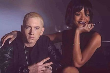 Eminem Rihanna canzone Chris Brown team mixtape