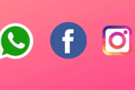 Facebook new logo Instagram Whatsapp