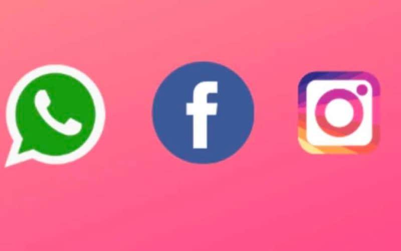 Facebook new logo Instagram Whatsapp