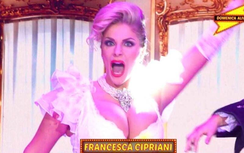 Francesca Cipriani DOmenica Alive Like A Virgin