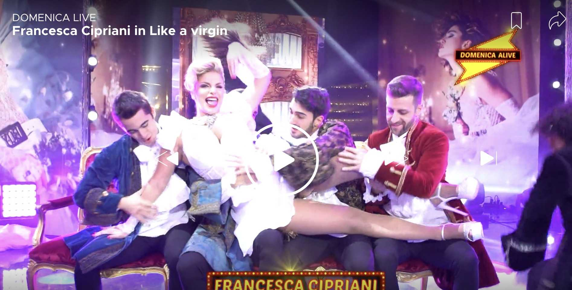 Francesca Cipriani Madonna Domenica Alive