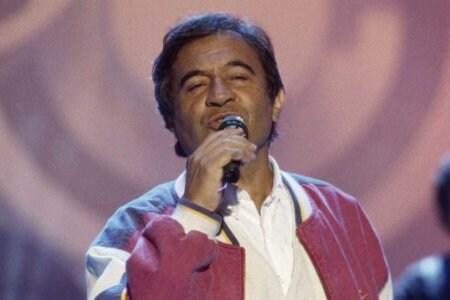 ©lapresse archivio storico spettacolo musica anni '80 Fred Bongusto nella foto: il cantante Fred Bongusto