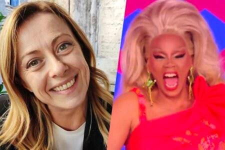 Giorgia Meloni gay omofobia Rupaul