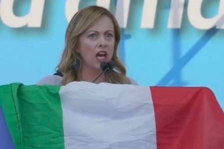 Io SOno Giorgia autori tormentone Meloni remix