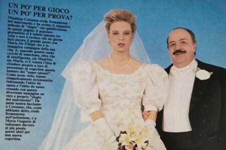Maria De Filippi Maurizio Costanzo Foto Matrimonio