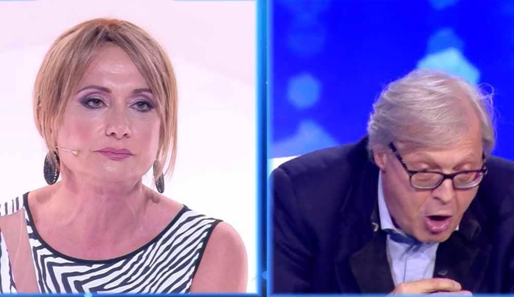 Vladimir Luxuria Vittorio Sgarbi Live non e la durso