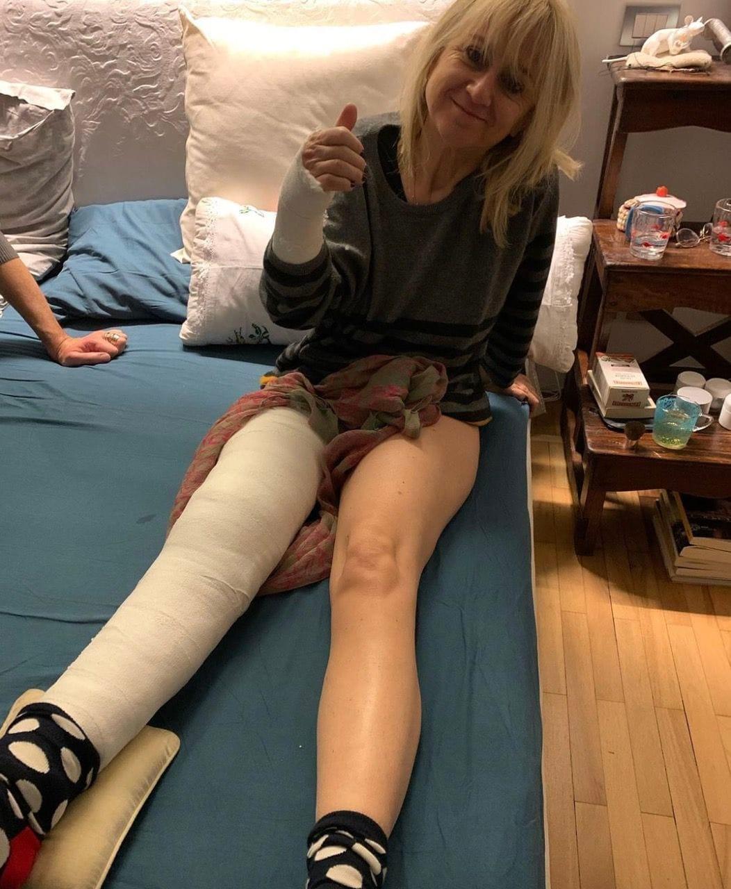Luciana Littizzetto: incidente per la comica che finisce in ospedale