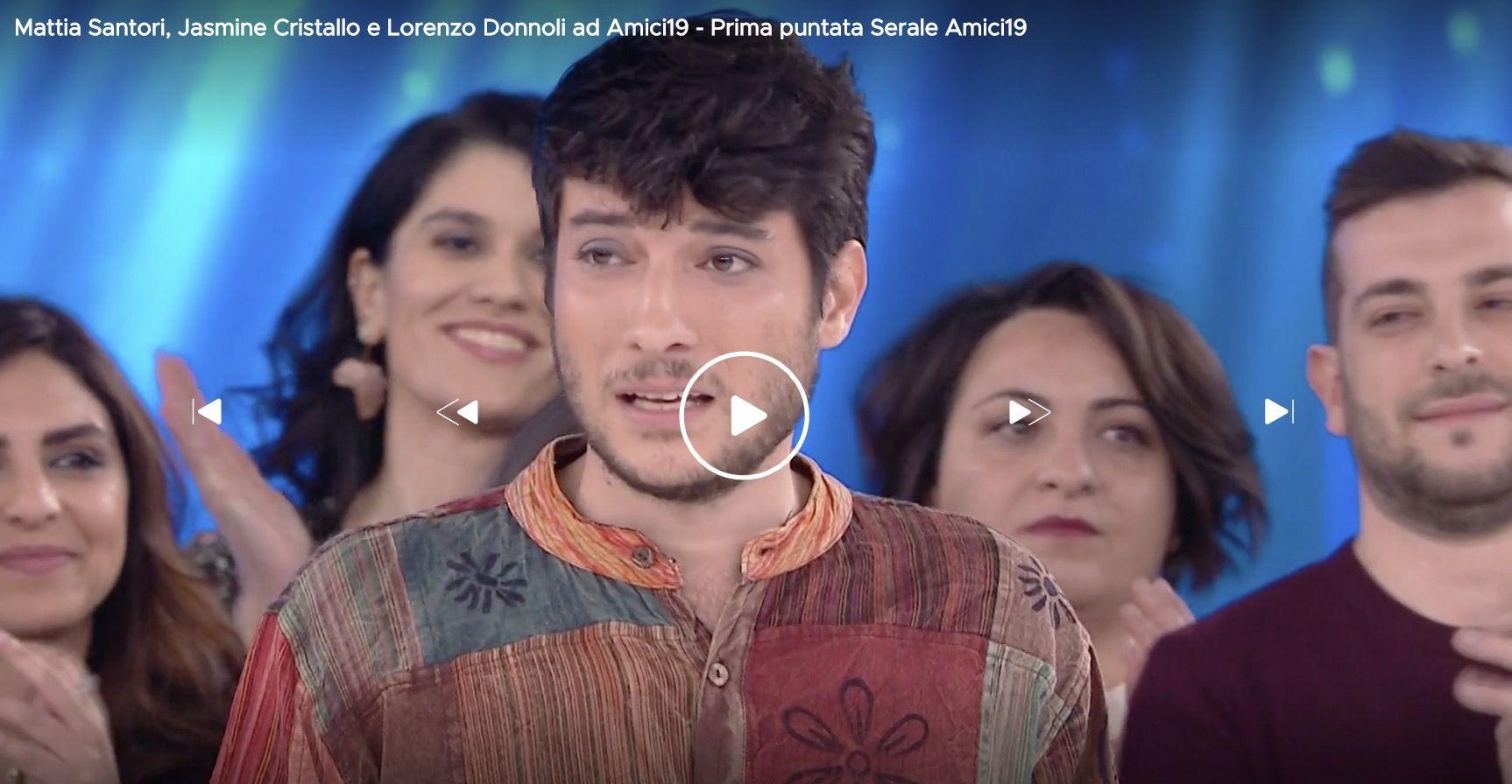 """Amici 19, la Sardina Lorenzo Donnoli contro l'omofobia: """"In"""