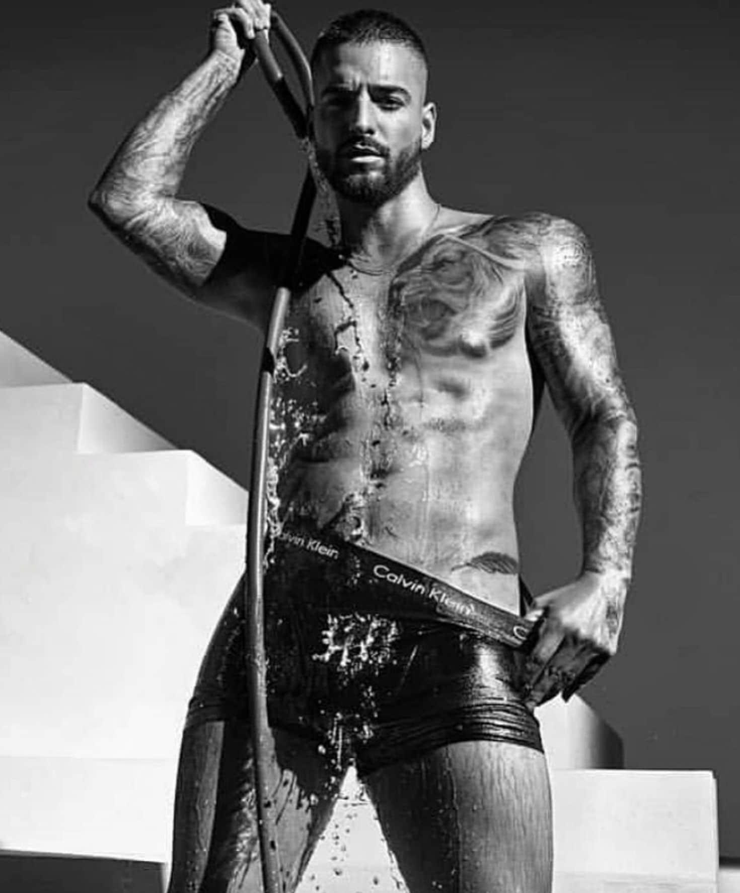 Maluma in intimo per Calvin Klein – foto e video ufficiali