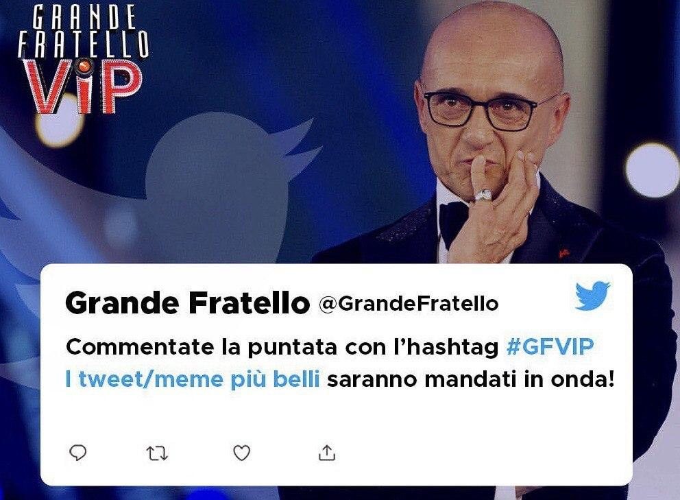 Grande Fratello Vip, streaming e social