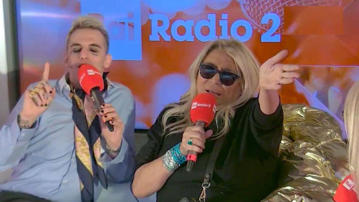 Sanremo 2020, Achille Lauro e Mara Venier