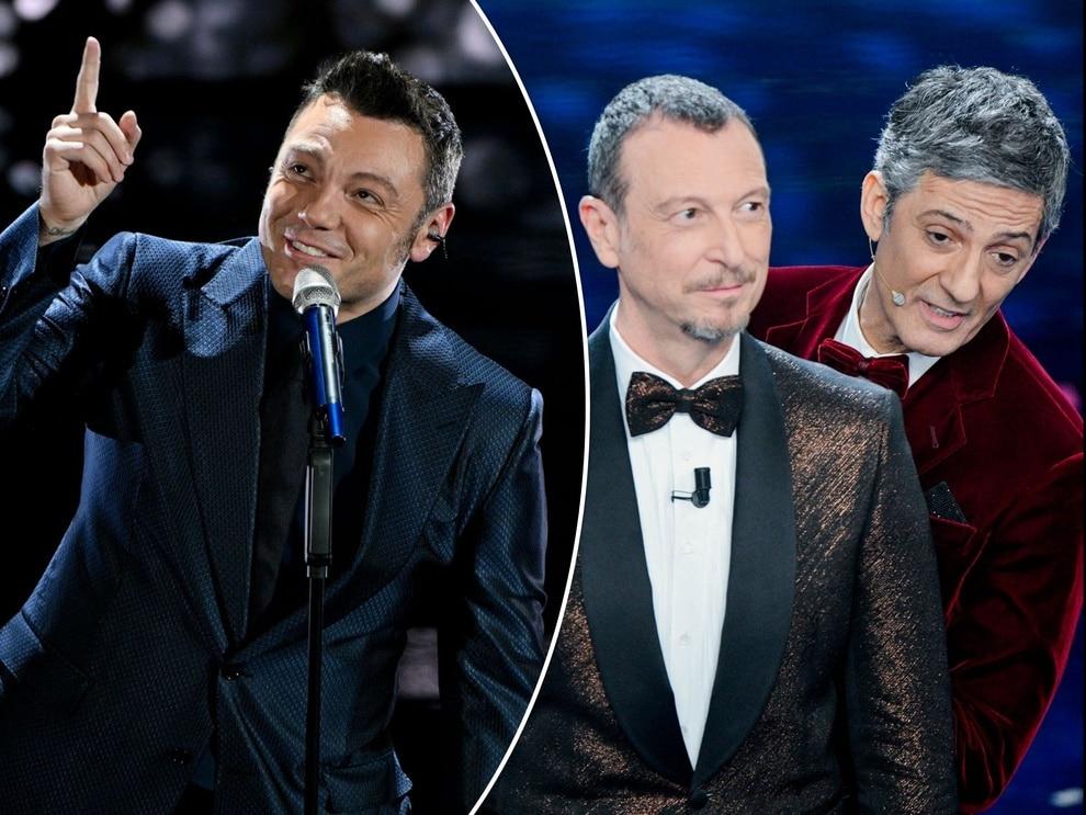 Sanremo 2020, Tiziano Ferro, Fiorello e Amadeus
