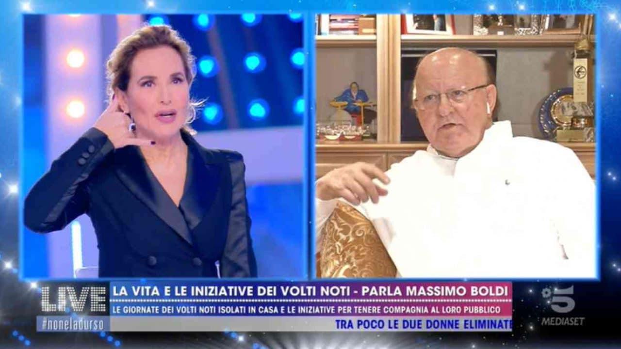 Barbara d'Urso e Massimo Boldi hanno visto due Ufo