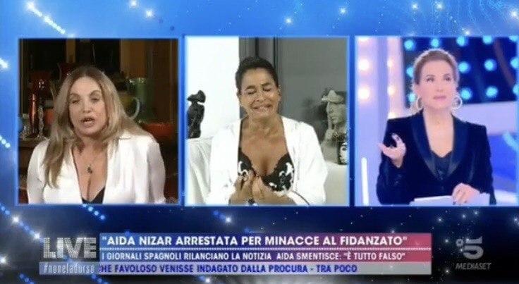 "Ada Nizar piange: ""Vittima di un massacro"", Simona Izzo asfalta la spagnola"
