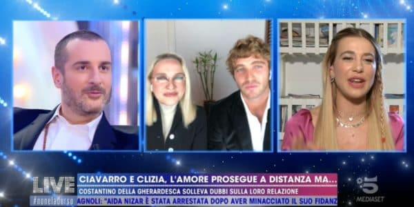 Paolo e Clizia Incorvaia, Costantino stuzzica sull'età e Ciavarro sbotta