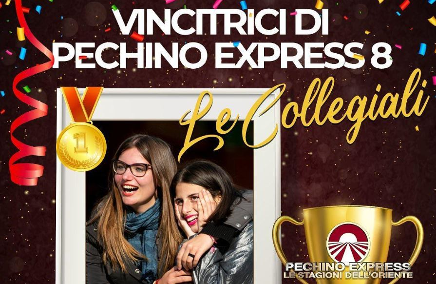 Pechino Express 2020, vincono Le Collegiali