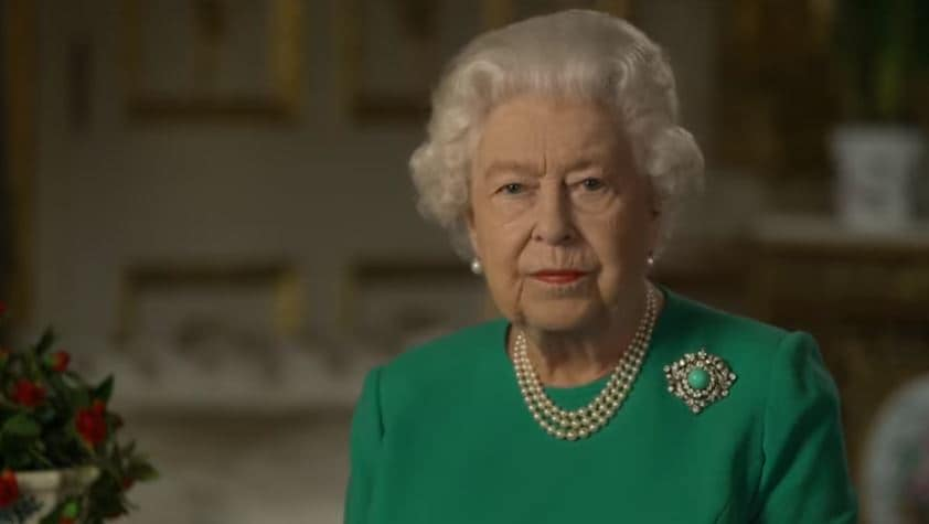 Regina Elisabetta, discorso