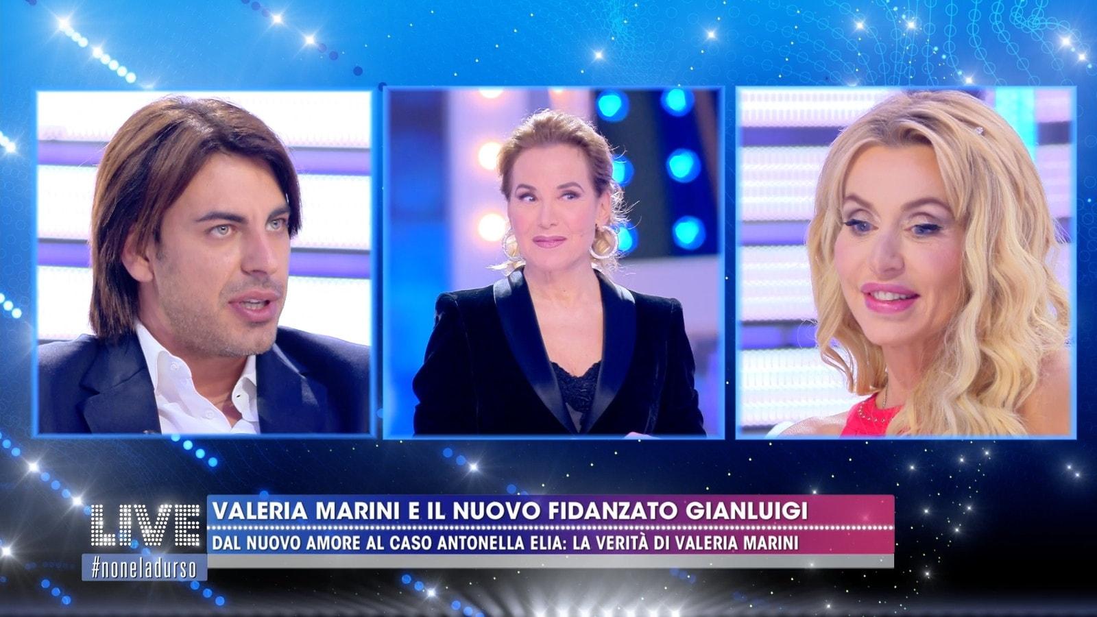 Valeria Marini non parla di Antonella Elia