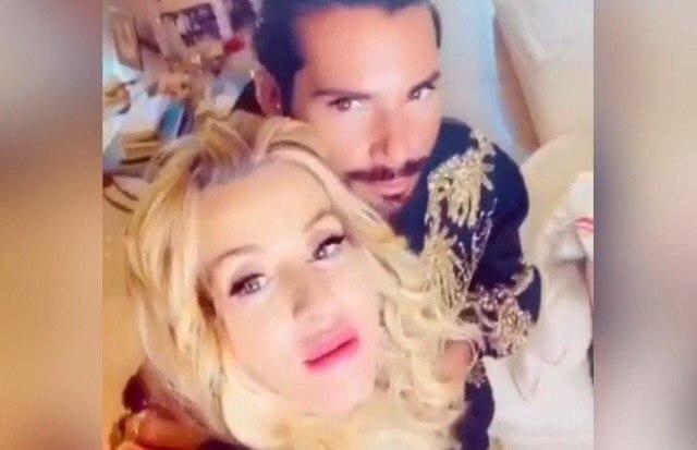 Federico Fashion Style e Valeria Marini