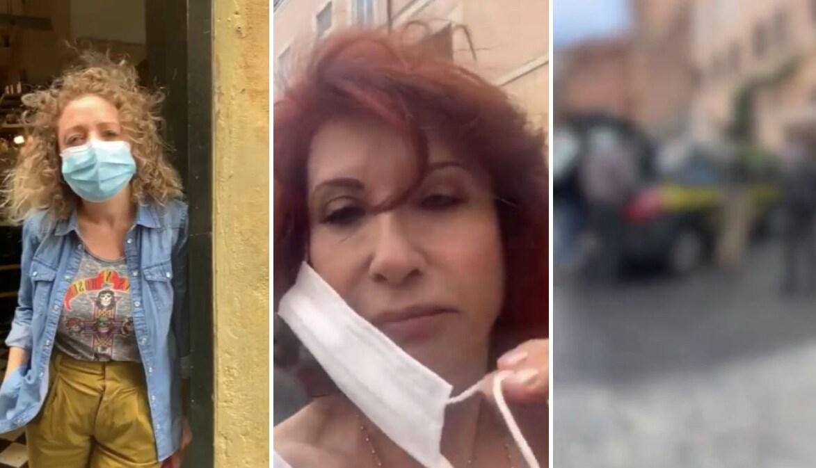 Alda D'Eusanio, 400 euro di multa per una mascherina rotta