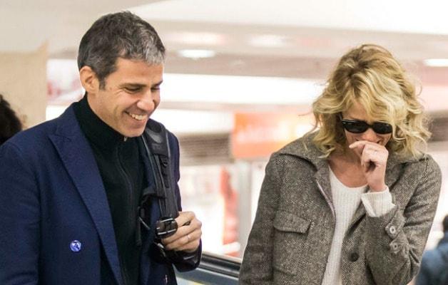 Alessia Marcuzzi e il marito Paolo Calabresi Marconi