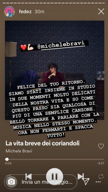 Michele Bravi Fedez