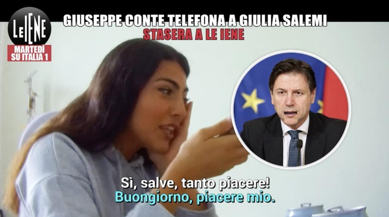 Giulia Salemi, Le Iene