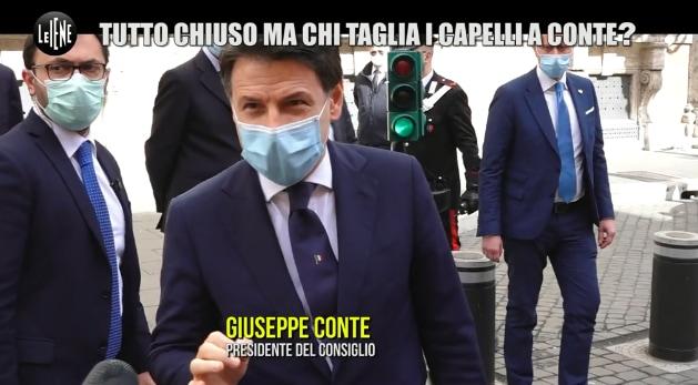 Chi taglia i capelli di Giuseppe Conte?