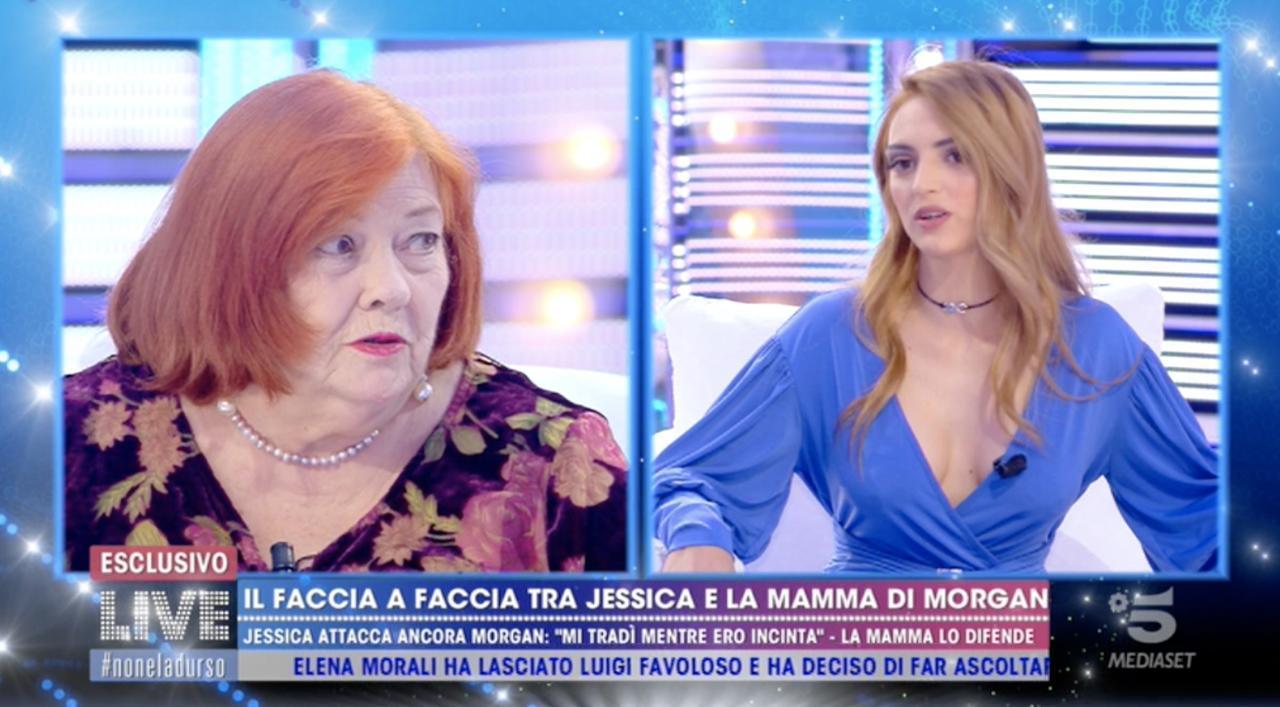 Jessica Mazzoli furiosa con la mamma di Morgan