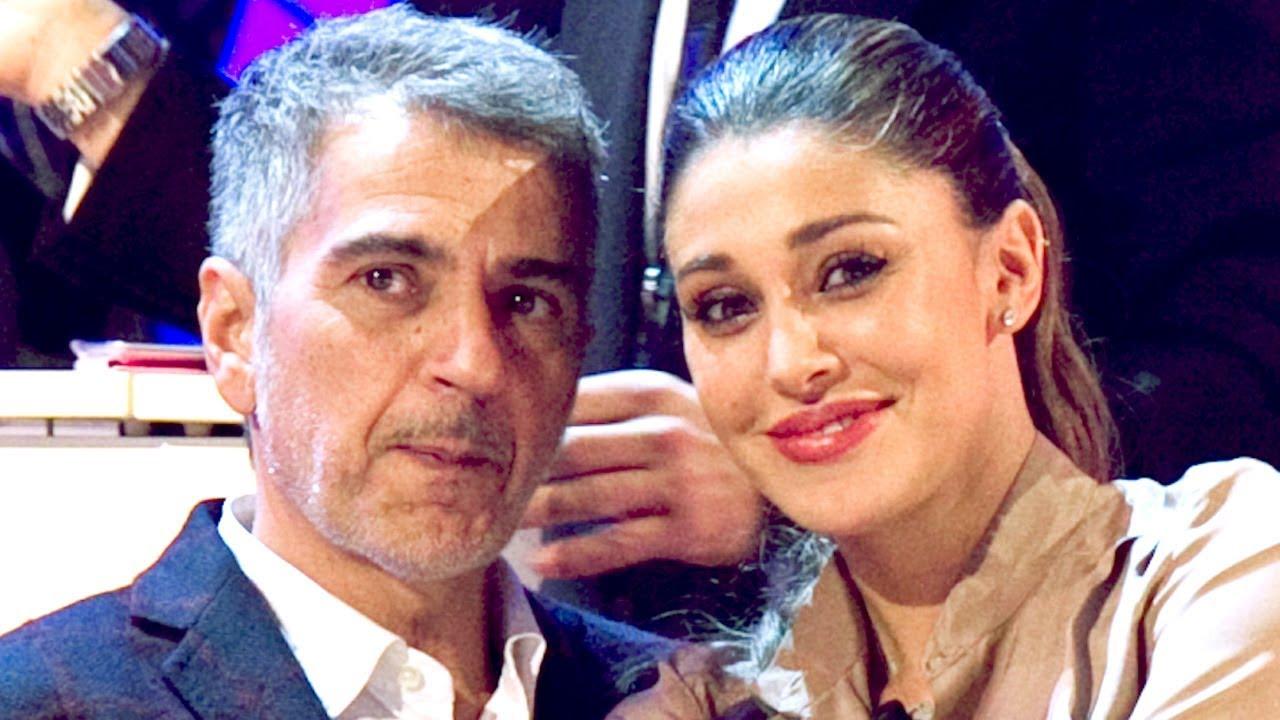 Belen Rodriguez e papà Gustavo
