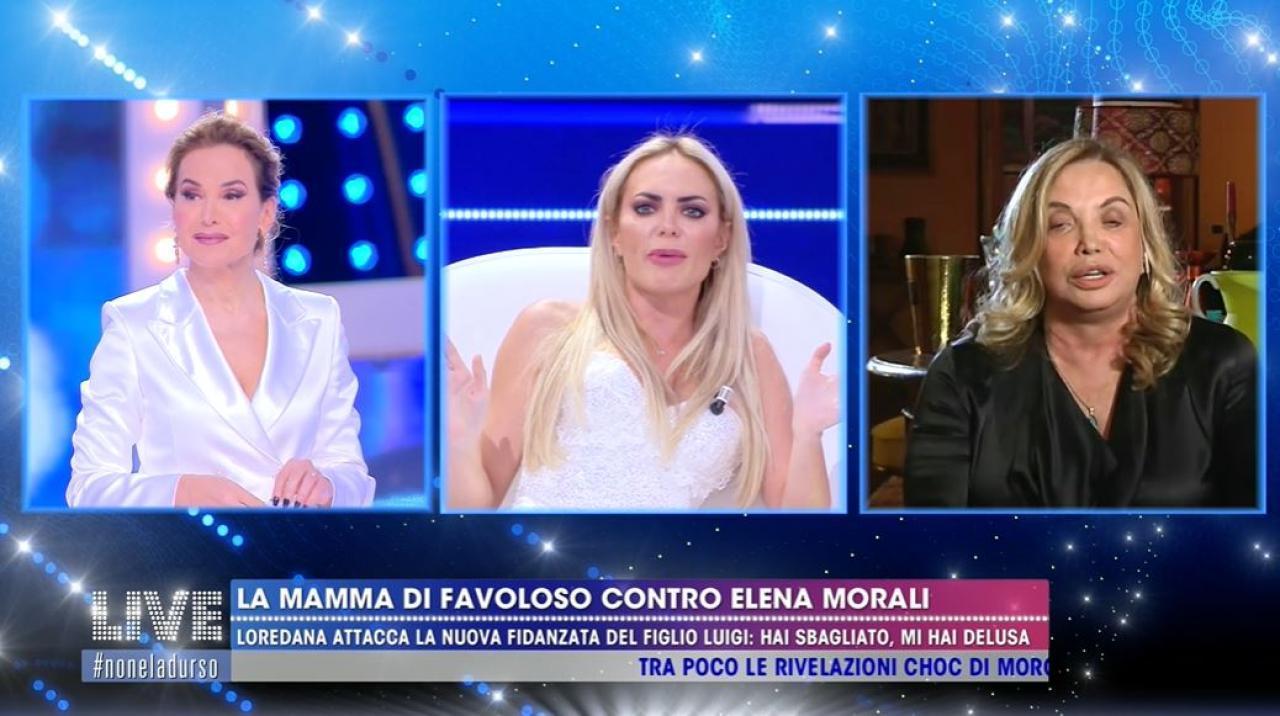 Elena Morali fa una figuraccia con Simona Izzo