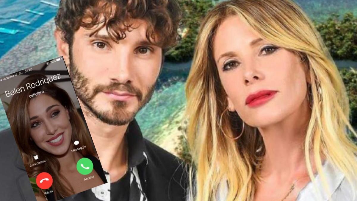 Retroscena flirt Alessia Marcuzzi e Stefano De Martino