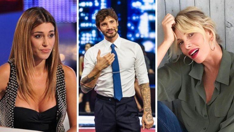Belen Rodriguez, Stefano De Martino e Alessia Marcuzzi