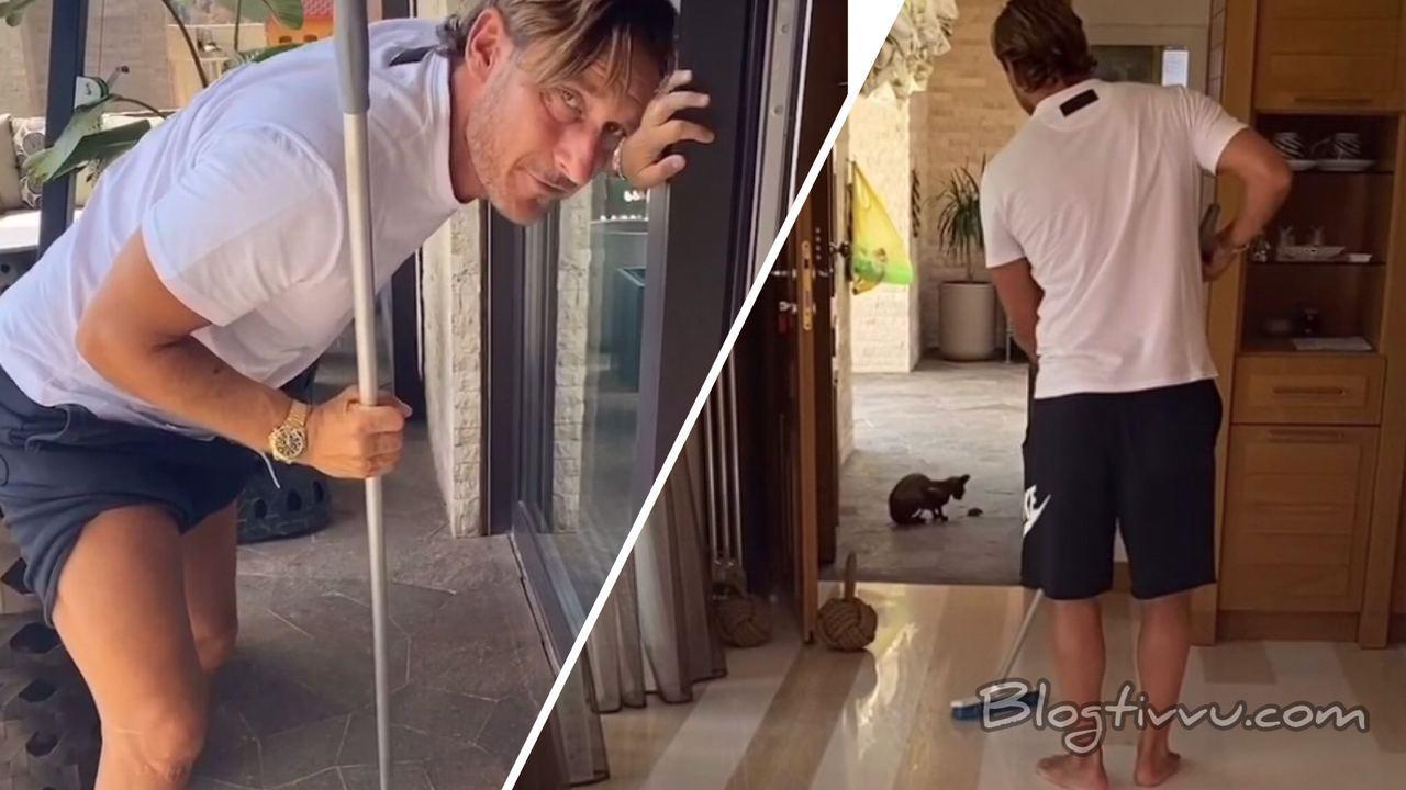 Topo in casa Blasi-Totti: Ilary filma tutto