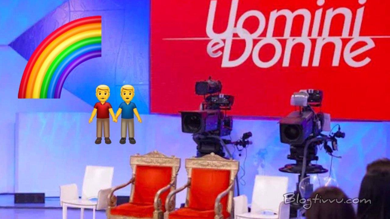 Uomini e Donne, tronista gay sposa il compagno