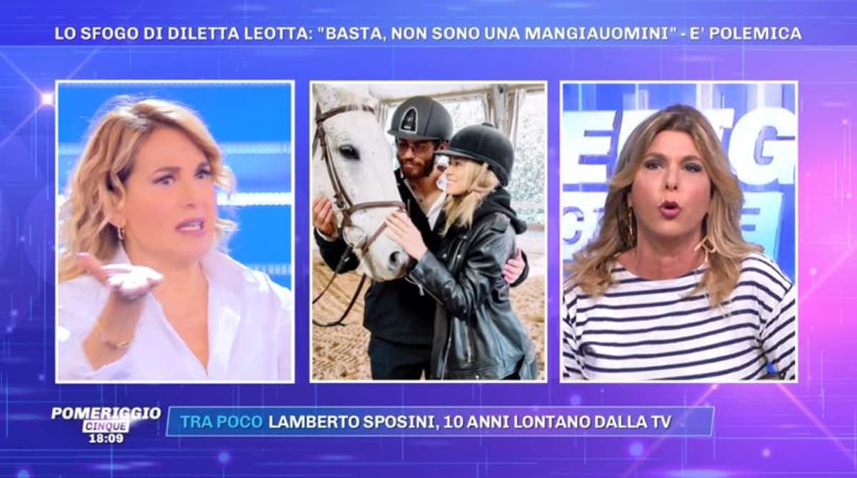 Barbara d'Urso su Diletta Leotta