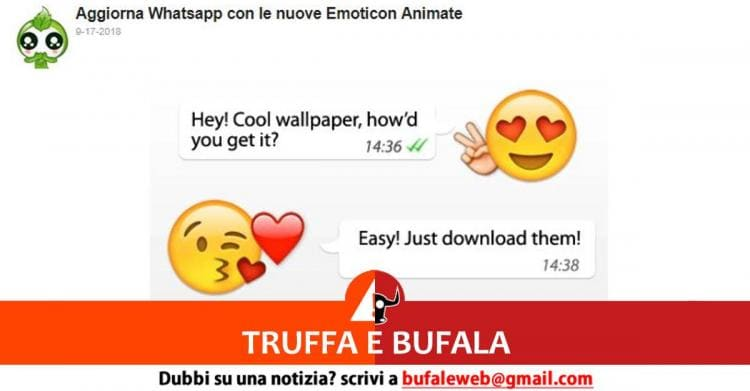 Bufala Nuovissime Emoji Ed Emoticon Whatsapp 2018 Animate
