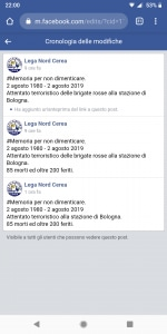 Modifiche post Lega Nord Cerea