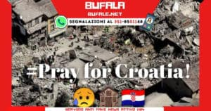BUFALA pray for croatia mask