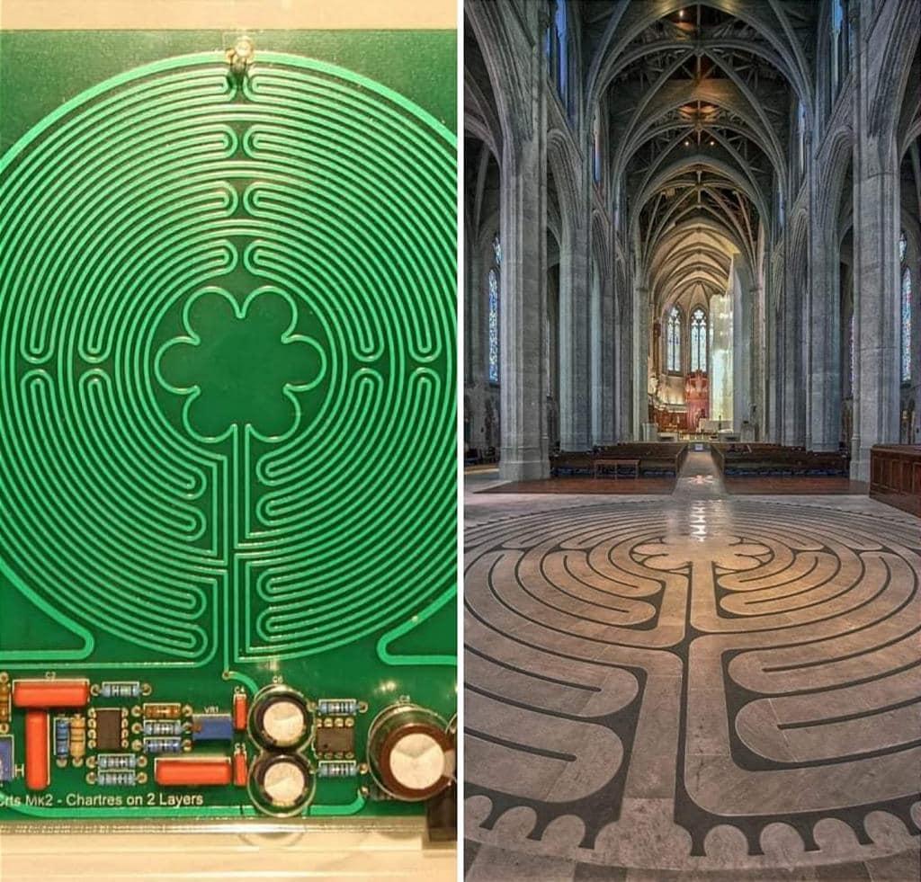 La cattedrale di Chartres e la risonanza di Schumann