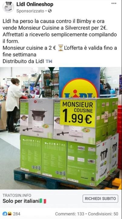 Monsieur Cousine a 1.99 €