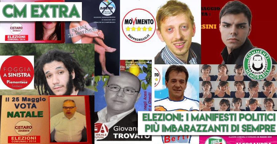 Elezioni santini votazioni 2017